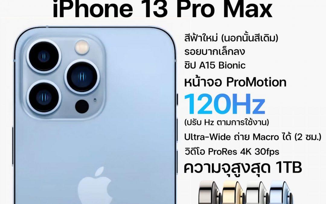 สรุปงานเปิดตัว iPhone 13, iPad mini 6, iPad 9 และ Apple Watch Series 7 สเปค และราคาทุกรุ่น